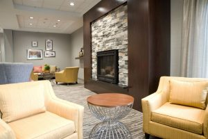 Front Lobby Fireplace