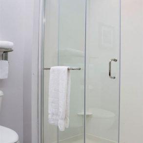 Bathroom Shower at Hammondsport Hotel
