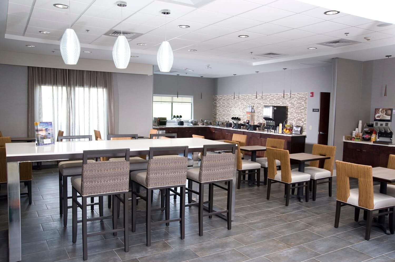 Dining Room for breakfast at The Hammondsport Hotel