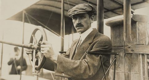 Glen H. Curtiss in an old photograph.