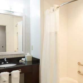 Hammondsport Hotel Accessible Tub in Accessible Standard 2 Queen Rooms and Suites